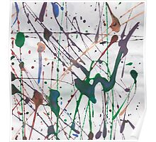Acrylic abstract Poster