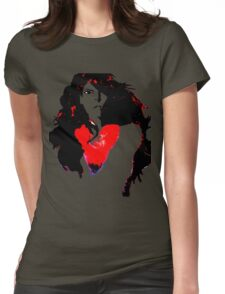 Naked Heart Womens Fitted T-Shirt