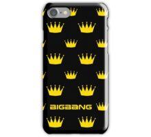 BIGBANG Crown Pattern 2 iPhone Case/Skin