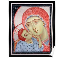 the Virgin of Tenderness and the Child Jesus Poster