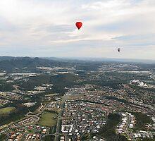 Paradise Ballooning by Michael Dearden