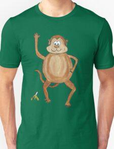 Cheeky Monkey and Banana T-Shirt