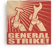General Strike Canvas Print