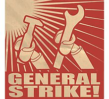General Strike Photographic Print