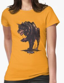 Beast Wolf Womens Fitted T-Shirt