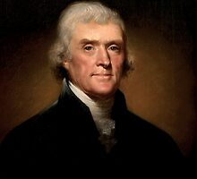 President Thomas Jefferson by warishellstore