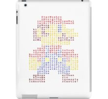 8-Bit Hero - Super Mario iPad Case/Skin