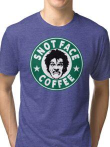 Snot Face Coffee Tri-blend T-Shirt