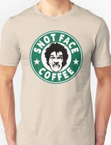 Snot Face Coffee Unisex T-Shirt