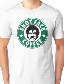 Snot Face Coffee Unisex T-Shirt