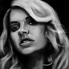 Portrait of Holly Willoughby by Andrew Pearce