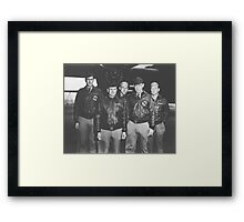 Jimmy Doolittle and His Crew Framed Print