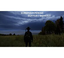 Survival Poster Photographic Print