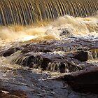 Waterfall Klarälven by Jo Nijenhuis