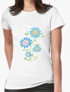 Fabric Flowers T-Shirt