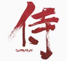 Samurai Kanji Kids Clothes