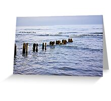 Sandsend Seascape Greeting Card