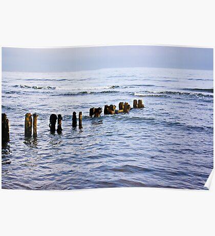 Sandsend Seascape Poster