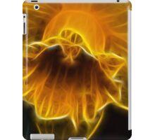 Daffodil Flower Fractal iPad Case/Skin