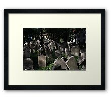 Old Jewish Cemetery Framed Print