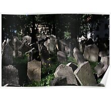 Old Jewish Cemetery Poster