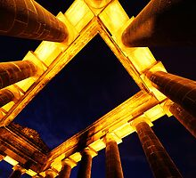 Penshaw (Dusk Abstract) by PaulBradley