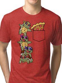 Pocket Pizza Tri-blend T-Shirt