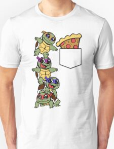 Pocket Pizza Unisex T-Shirt