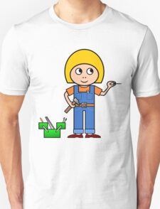 Little Handy Girl T-Shirt