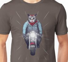 Cafe Racer Cat Speedo Unisex T-Shirt