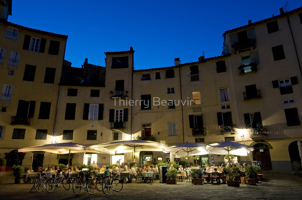 Italie - Toscane - Lucques (Lucca) by Thierry Beauvir
