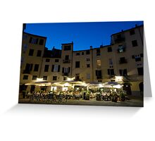 Italie - Toscane - Lucques (Lucca) Greeting Card