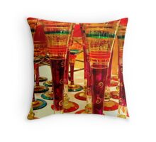 Glitzy Glassware ^ Throw Pillow