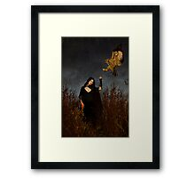 Dark keeper Framed Print