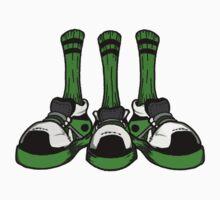 Boston Shoe Trio by cesspool
