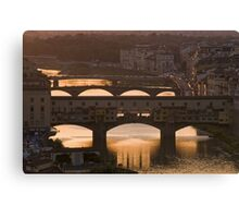 Italie - Toscane - Florence (Firenze) Canvas Print