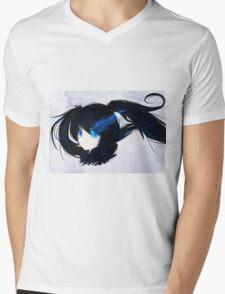 Black Rock Shooter Sweet blue Mens V-Neck T-Shirt