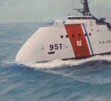 U. S. Coast Guard Cutter concept design Sticker