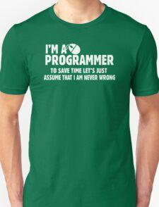I Am A Programmer T-Shirt
