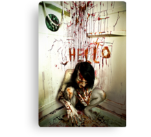 HELL-O Canvas Print