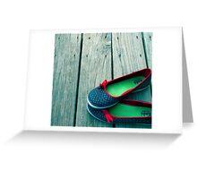 Shoe Corner Greeting Card