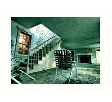 Spirit Of The Stairwell Art Print
