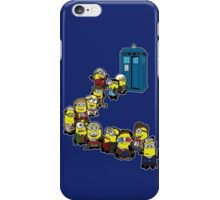 Doc Minion Line Up iPhone Case/Skin