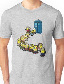 Doc Minion Line Up Unisex T-Shirt