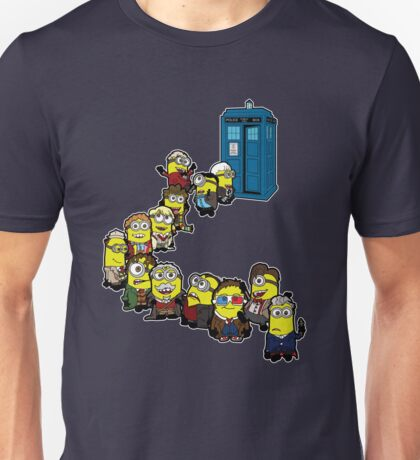 Doc Minion Line Up Unisex T-Shirt