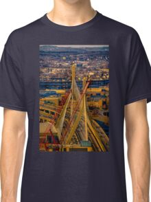 Leonard P. Zakim Bunker Hill Memorial Bridge Classic T-Shirt