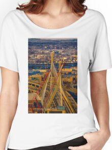 Leonard P. Zakim Bunker Hill Memorial Bridge Women's Relaxed Fit T-Shirt