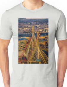 Leonard P. Zakim Bunker Hill Memorial Bridge Unisex T-Shirt