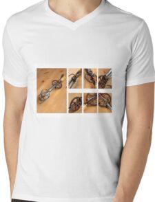 Old Cream Beater  Mens V-Neck T-Shirt