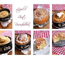 Almonds and Cinnamon Yeast Cake by SmoothBreeze7